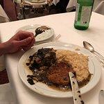 Steak with fois gras