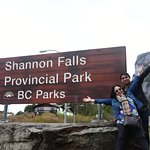 Very Accessible Falls On The Way to Whistler
