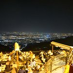 Monal restaurant with Islamabad view