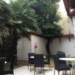 Lovely quiet patio area