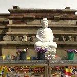 """Mirisavetiya Stupa / """" Lord Buddha Statue"""