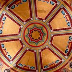 London Coliseum, one of the ornate ceiling domes