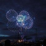 Cowes Week Firework Night Prime Location