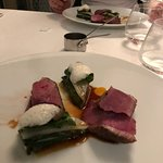 breast of duck grapefruit and chard