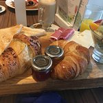 Continental breakfast in Vitale Cafe