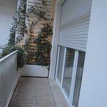 Little terrace outside the room