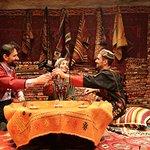 Traditional Turkish wedding attire