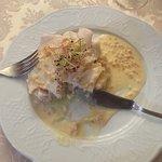 Filet de Sandre sur lit de purée de pomme de terre