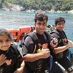 First time scuba diving..
