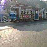 Trams on Kolkata road