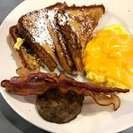 French Toast with Cheese Eggs