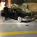 Governor Rockefeller's personalized limo.