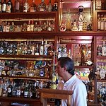 Eduardo and the wall of Tequila