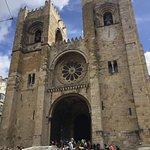 The Se de Lisboa - outside...