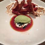 Strawberry meringue and stunning ice-cream