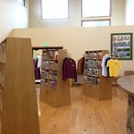 Visitor Center Interior with free publications from our area as well as around the state.