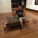 your Happy Traveller chilling in the Getty Center