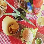 The vegan chickpea burger