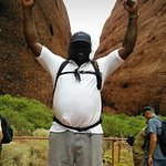 Ayers Rock and the Olgas Foto