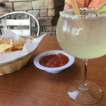 Delicious and strong margaritas!