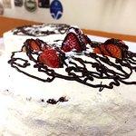 Torta de Leite Ninho com Morango ou Nutella