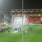 Bristol Rugby celebrate winning the 2017-18 Championship