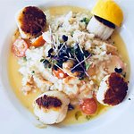 Scollop and Crab risotto