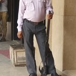 The red carpet to the Bank of India is a secure place