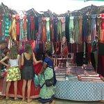 Anjuna market.