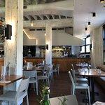 Open Kitchen and Restaurant Interior