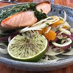 Salmon with Fennel and Orange Salad