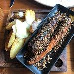 Kipfler Potato and Coal Roasted Carrots