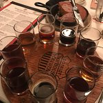 A must try... the sampler.