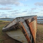 boat on the foreshore