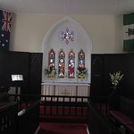 church upstairs from Commissariat Store