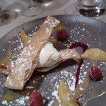 Dessert mousse de fromage blanc