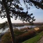 Kalemegdan Fortress with stunning views on both rivers Sava and Danube.