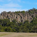 Aussies Enjoy Hike to top of Hanging Rock at Woodend