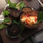 Delicious BBQ beef rib