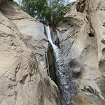 The waterfall at Tahquitz Canyon