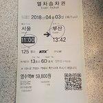 ภาพถ่ายของ KTX (Korea Train Express)