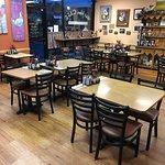A peek inside our cozy little café!