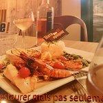 Assiette trois saveurs de la mer