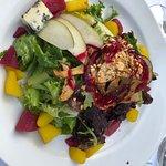 Pear salad - looks and tastes wonderful