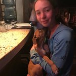 Daughter and puppy!