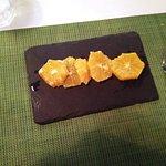 Carpacio de naranja
