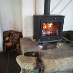 Love this Log burner ,,a special touch to an amazing place