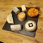 Diane's cheese selection for us