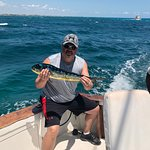 Mahi Mahi-wished it was bigger but that's why they call it fishing and not catching!!