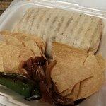 Beef burrito, 3 stars.